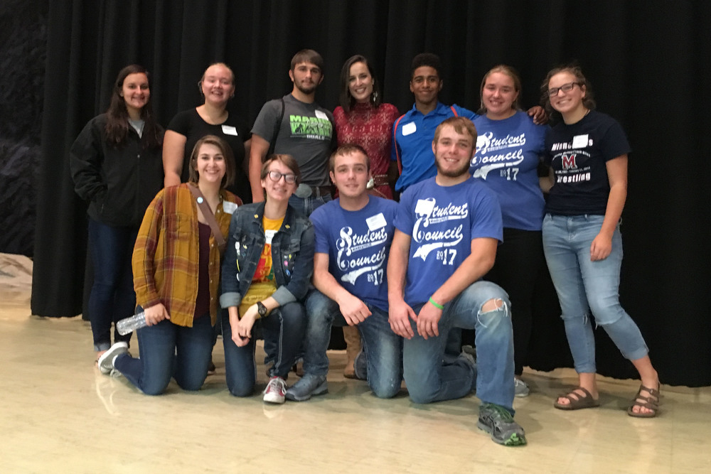 Student Council Learn Leadership Skills at Regional Conference