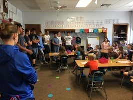 Speech Class answers 2nd Graders' Questions
