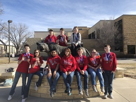 Science Olympiad Division B Team Medals at Hays Regional