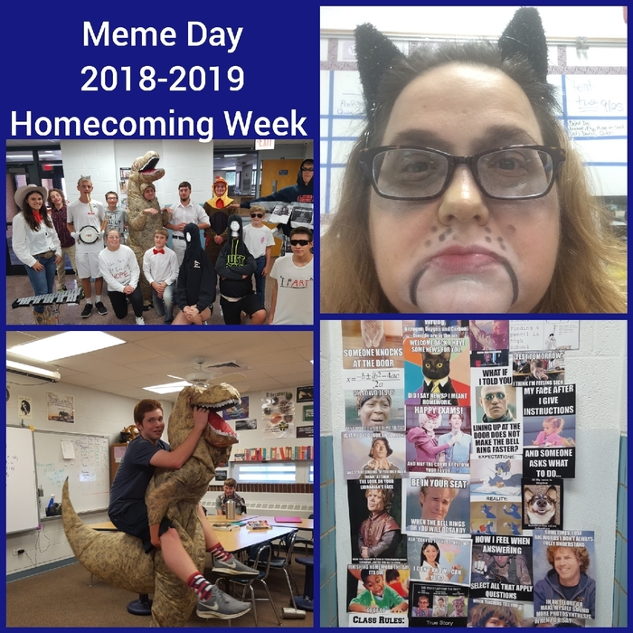 Meme Day- homecoming week