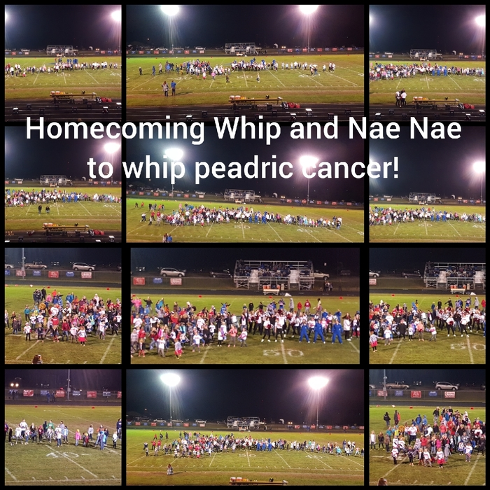 Whip and Nae Nae to whip practic cancer