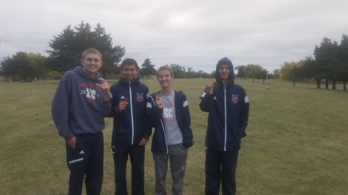 MHS medalists at league