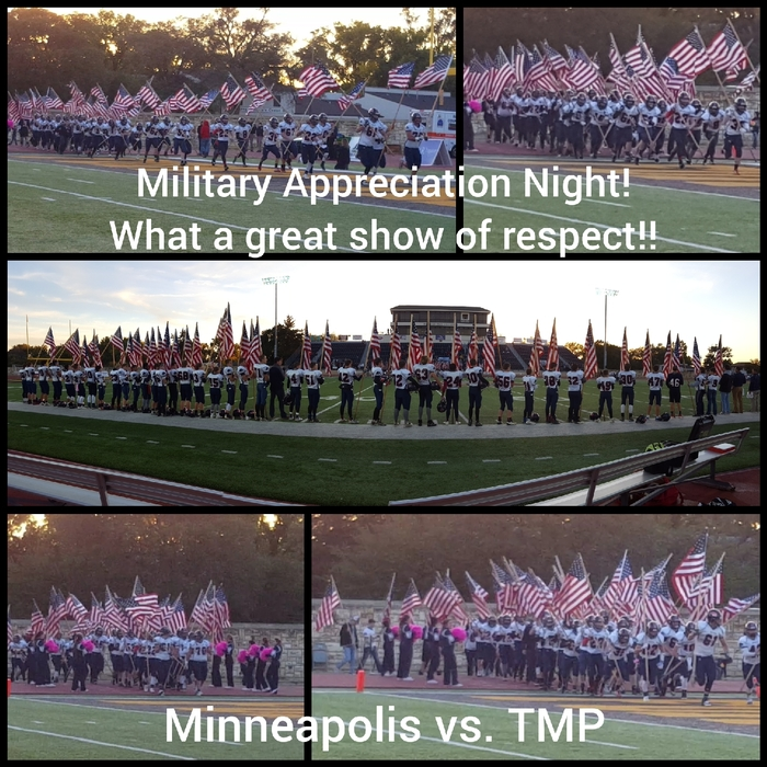 Minneapolis vs TMP